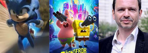 Sonic et Bob l'éponge ,stars de l'été pour la Paramount dans les salles de cinéma