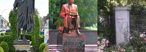 Léon Gambetta, Jules César, Montanelli... Les dégradations contre des statues se poursuivent