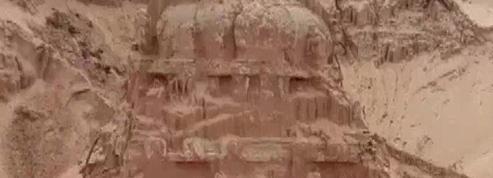 L'Inde redécouvre un temple de 300 ans enseveli sous des montagnes de sable