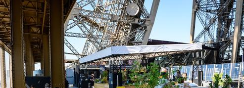 La guinguette éphémère de la Tour Eiffel