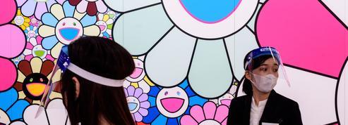 Sans JO et toujours en pleine pandémie, Tokyo retrouve des couleurs grâce à l'art contemporain