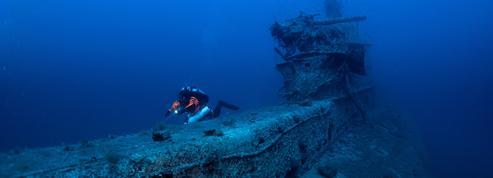 La Grèce inaugure son premier musée sous-marin, un «Parthénon des naufrages»