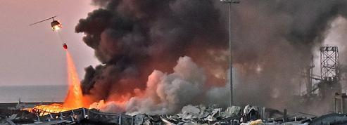 EN DIRECT - Liban: 2750 tonnes de nitrate d'ammonium à l'origine des explosions, au moins 73 morts et 3700 blessés