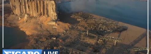 Le port de Beyrouth dévasté, le Liban perd une source d'alimentation essentielle