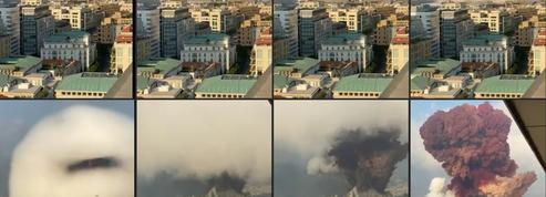 Explosions à Beyrouth : les images décryptées pas à pas