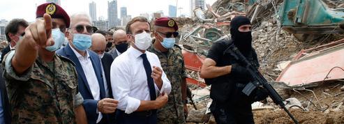 Explosions à Beyrouth : Emmanuel Macron assure que «le Liban n'est pas seul»