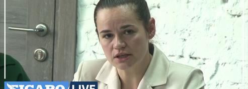 Biélorussie: diffusion d'une vidéo de l'opposante Tikhanovskaïa réalisée «sous pression» selon ses soutiens