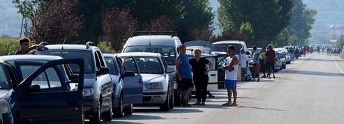Coronavirus: des milliers d'Albanais bloqués à la frontière grecque