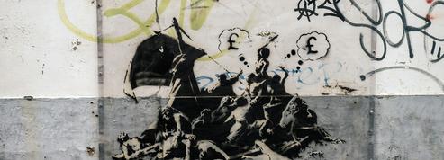 Bansky, comment le street artiste a épousé la cause des migrants
