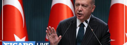 Erdogan s'en prend à Macron et aux dirigeants grecs, «cupides et incompétents»