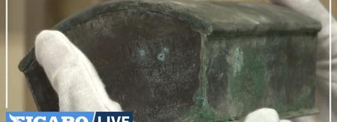 En Belgique, des ouvriers découvrent une urne renfermant le cœur du premier maire de la ville
