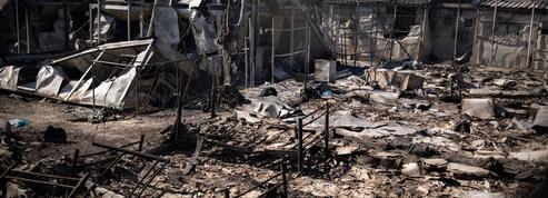 Incendie du camp de Lesbos: «La France sera au rendez-vous de la solidarité avec la Grèce», dit Macron