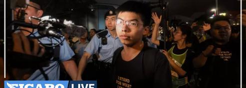 Manifestations en 2019 à Hongkong : Joshua Wong arrêté pour «rassemblement illégal»
