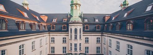 À Copenhague, un hôtel qui enjambe le temps
