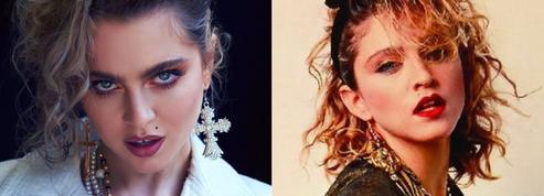 Une actrice de 13 Reasons Why se déguise pour décrocher le rôle de Madonna dans un biopic