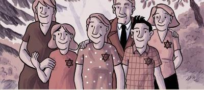 Si je reviens un jour ,la BD qui retrace la vie d'une adolescente juive, à Paris, pendant l'Occupation