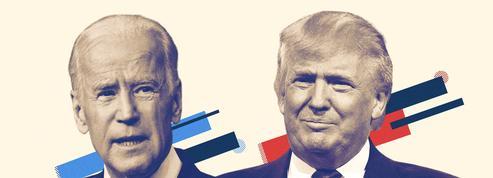 Donald Trump vs. Joe Biden : deux candidats aux antipodes