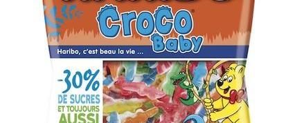 Pour ses 40 ans Haribo lance des «Crocos» moins sucrés, sans édulcorants ni colorant artificiel