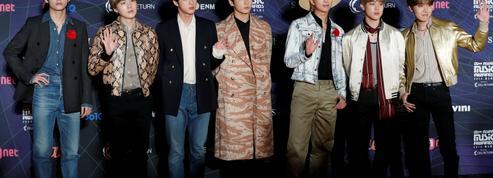 BTS, les rois de la K-pop, font une entrée fracassante à la bourse sud-coréenne