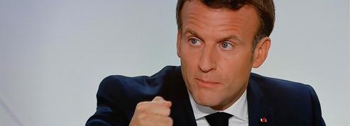 Emmanuel Macron juge «indécentes» les critiques contre Jean Castex
