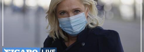 Pour Marine Le Pen, «une série d'élus se sont compromis avec l'islamisme»
