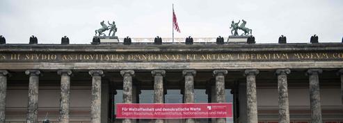 Une nouvelle œuvre dégradée sur l'Île aux musées de Berlin
