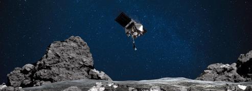 Le stockage des échantillons d'astéroïde dans la sonde Osiris-Rex a été réussi