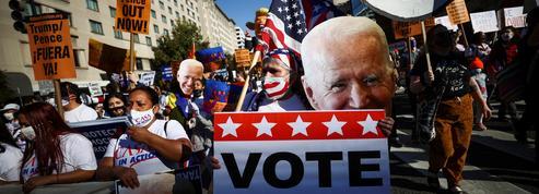 EN DIRECT - Présidentielle américaine : Joe Biden en tête en Géorgie et Pennsylvanie, Donald Trump réduit l'écart en Arizona