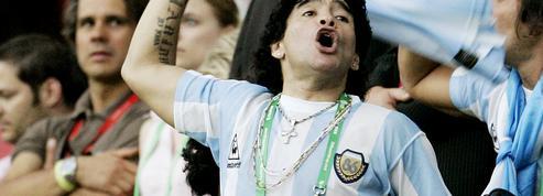Diego Maradona, légende du football et héros de cinéma