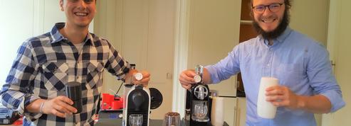 Ils lancent la première machine en France à recharger les capsules à café