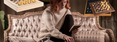 Noël 2020: des échiquiers et des livres pour jouer comme dans le Jeu de la Dame