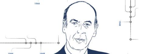 Valéry Giscard d'Estaing : 60 ans de vie publique en un coup d'œil