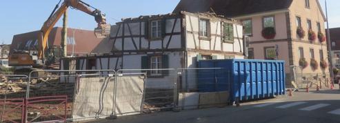 «C'était un trésor patrimonial» : stupeur dans le Bas-Rhin après la destruction d'une maison de 1662