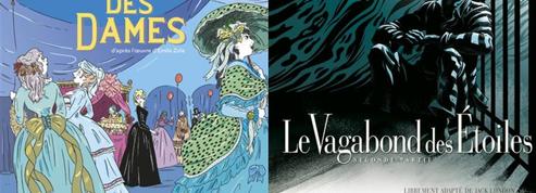 De Zola à London, les dessinateurs de BD se passionnent pour la littérature