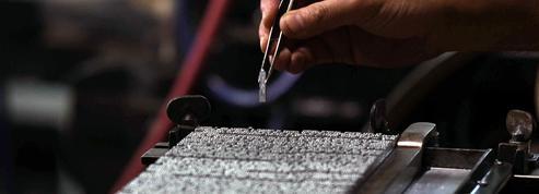 Une machine à hiéroglyphes reprend vie dans une imprimerie du Caire