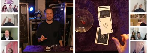 En direct de Montréal, l'illusionniste Luc Langevin s'invite chez son public