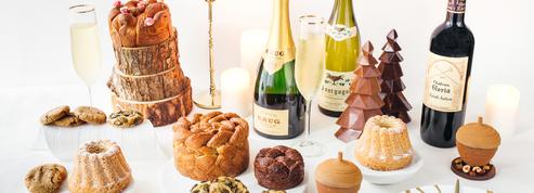 Grands vins et pâtisseries au pop up store de Noël du George V