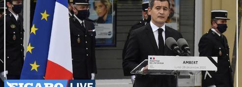 Hommage aux gendarmes tués dans le Puy-de-Dôme : «Messieurs, vous étiez des héros du quotidien des Français»