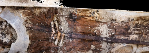 À Soissons, découverte du corps momifié d'un abbé du XIIIe siècle