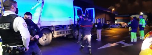 Gironde : un camion d'éboueurs cible de coups de feu