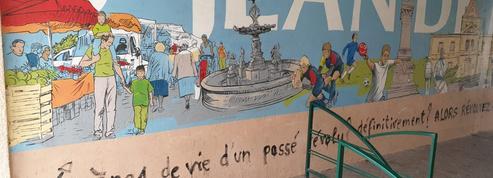 Isère : des tags complotistes sur les murs d'une petite commune