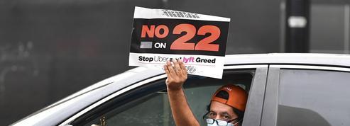 Des chauffeurs Uber poursuivent la Californie en justice sur la question de leur statut