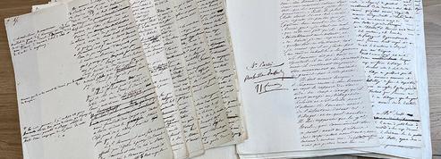 Un manuscrit sur la bataille d'Austerlitz annoté par Napoléon aux enchères