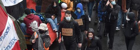 Rennes : manifestation en soutien aux participants de la Rave party du Nouvel An