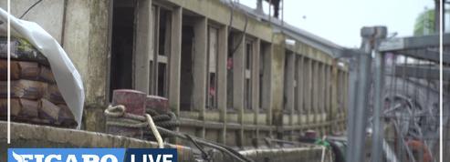 La crue de la Seine fait monter les inquiétudes concernant la péniche du Corbusier