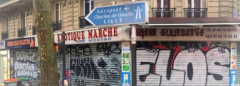 Place de la Chapelle, une opération anti-tag lancée par les habitants