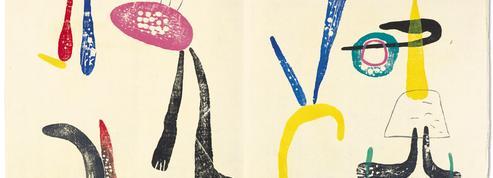 Un recueil de poésie d'Éluard illustré par Miro s'envole à 170.000 euros