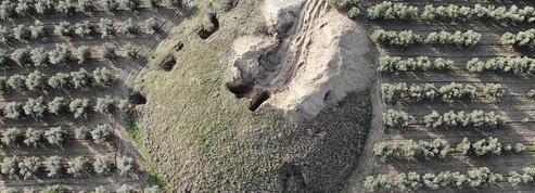 Deux tombes royales lydiennes pillées en Anatolie
