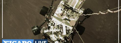 La Nasa publie la première vidéo de l'atterrissage du rover Perseverance sur Mars