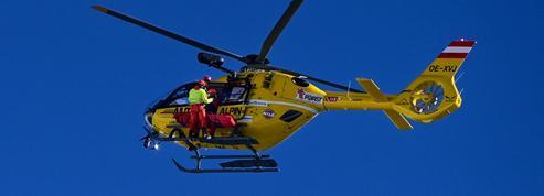 Nouvel accident d'hélicoptère dans les Alpes, les occupants indemnes